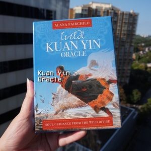 🌿 Wild Kuan Yin Oracle 44 Cards & Guidebook Set